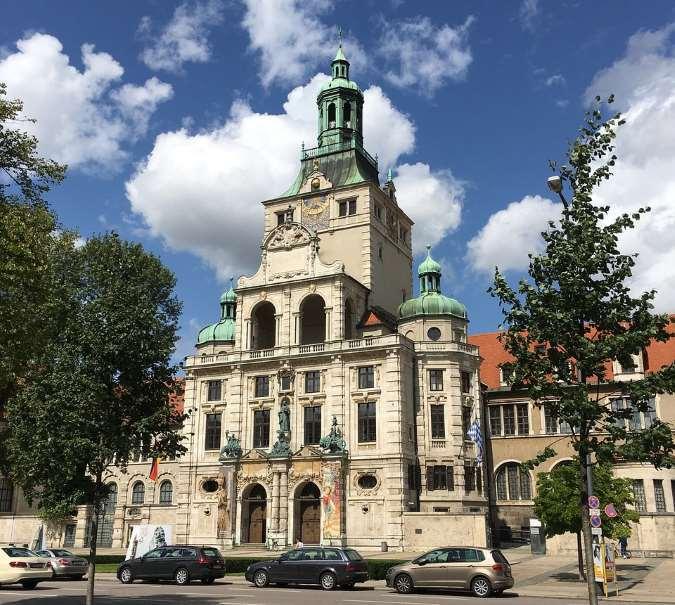 Gebäude Bayrisches Nationalmuseum München