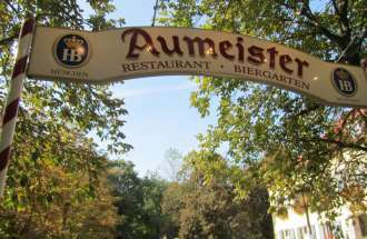 Aumeister Biergarten München Nord
