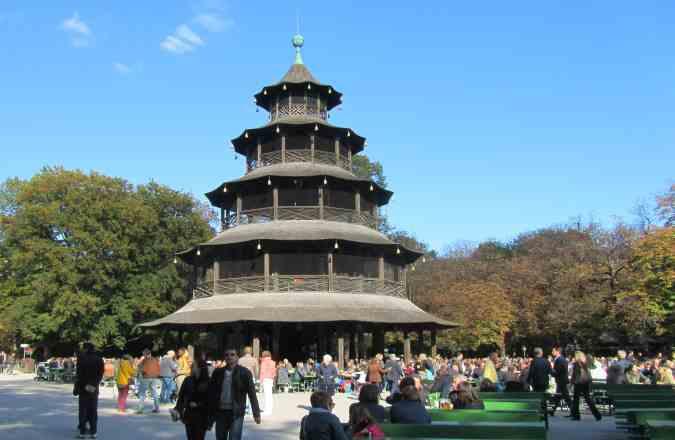 China Turm im Englischen Garten