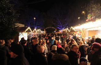 Weihnachtsmärkte um den Englischen Garten