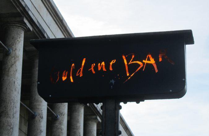 Die Goldene Bar im Haus der Kunst München