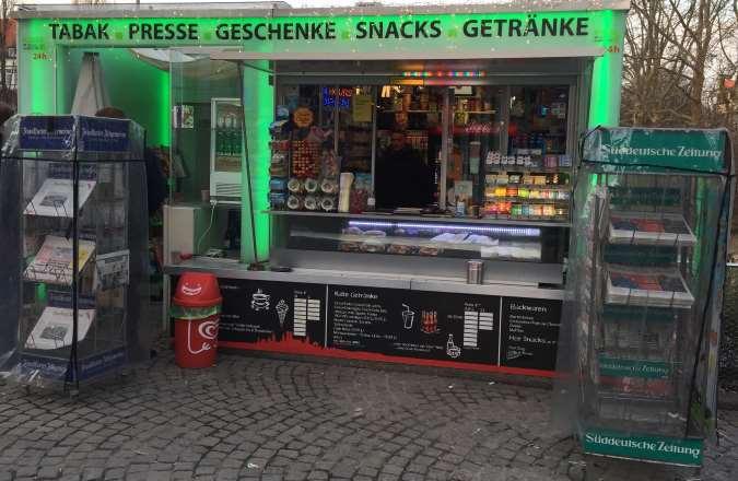 Kiosk Münchner Freiheit