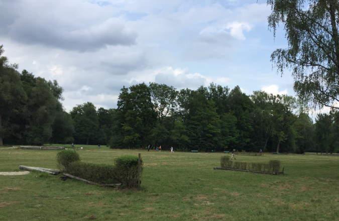 Reiten im Englischen Garten