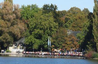 Seehaus Biergarten am Kleinhesseloher See
