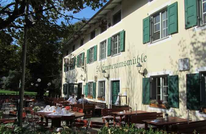 Restaurant und Wirtshaus St. Emmeramsmühle am Englischen Garten München