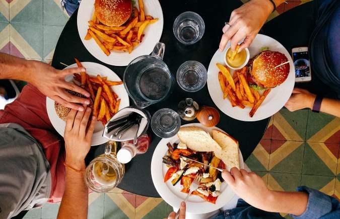 Englischer Garten Essen und Trinken