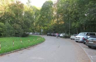Parkplatz in der Gyßlingstraße gegenüber dem Seehaus München