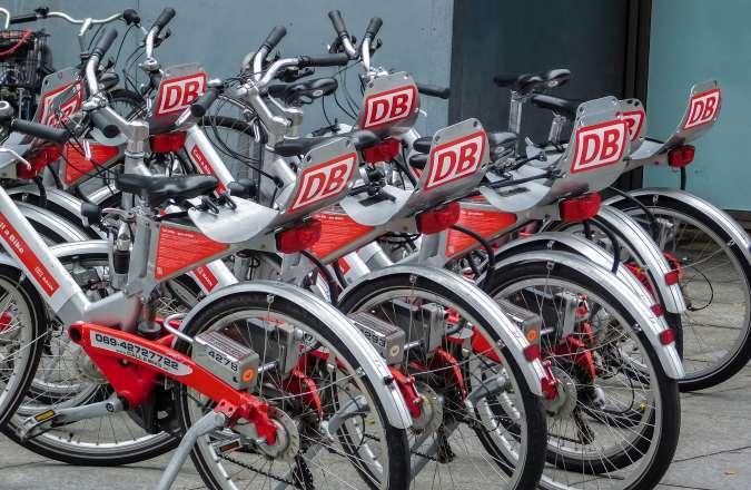 Fahrrad mieten über DB Rad
