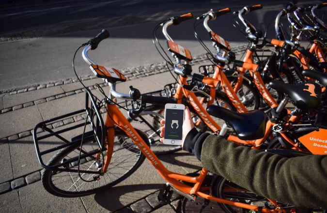 Fahrrad leihen am Englischen Garten