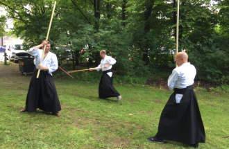Kendo-Vorführung