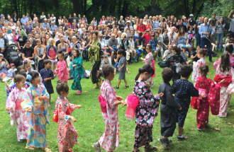 Tanzvorführung der Japanischen Internationalen-Schule München