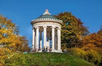 Monopteros Englischer Garten Der Tempel Mit Toller Aussicht