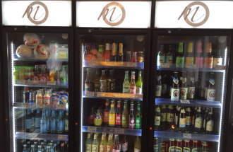 Große Auswahl an Getränken bei Fräulein Müller
