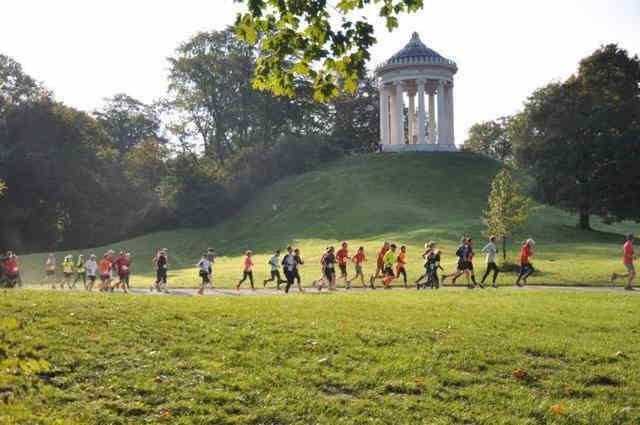 Lions Monopteros Lauf - Charity Lauf im Englischen Garten