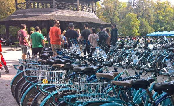 geführte Fahrrad- oder Segway-Touren