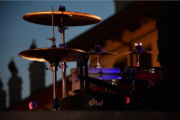 Konzert im Englischen Garten im Rahmen des 375 Hektar Festivals