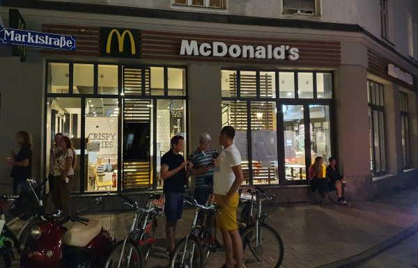 McDonalds am Wedekindplatz