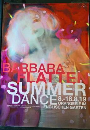 Ausstellung von Barbara Flatten in der Orangerie München